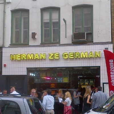 News Image June 13 - Herman's Sausage Shop on Old Compton Street