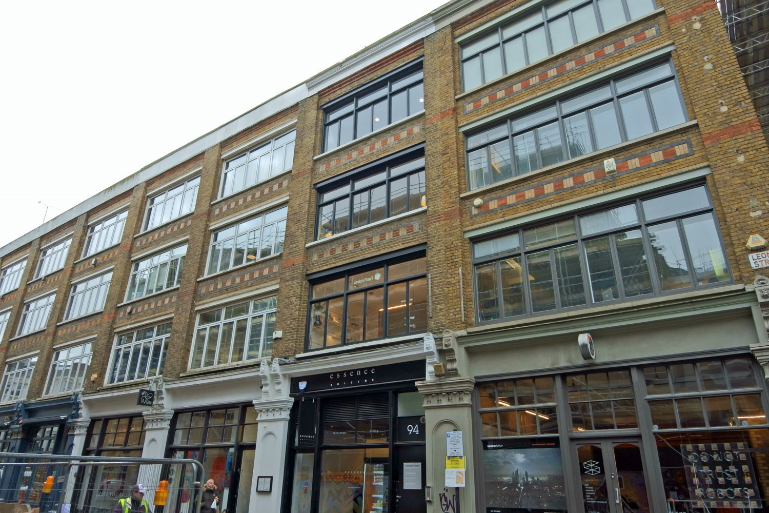 94 Leonard Street Shoreditch EC2A Office For Rent External 3