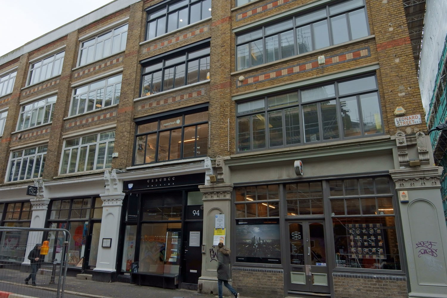 94 Leonard Street Shoreditch EC2A Office For Rent External 2
