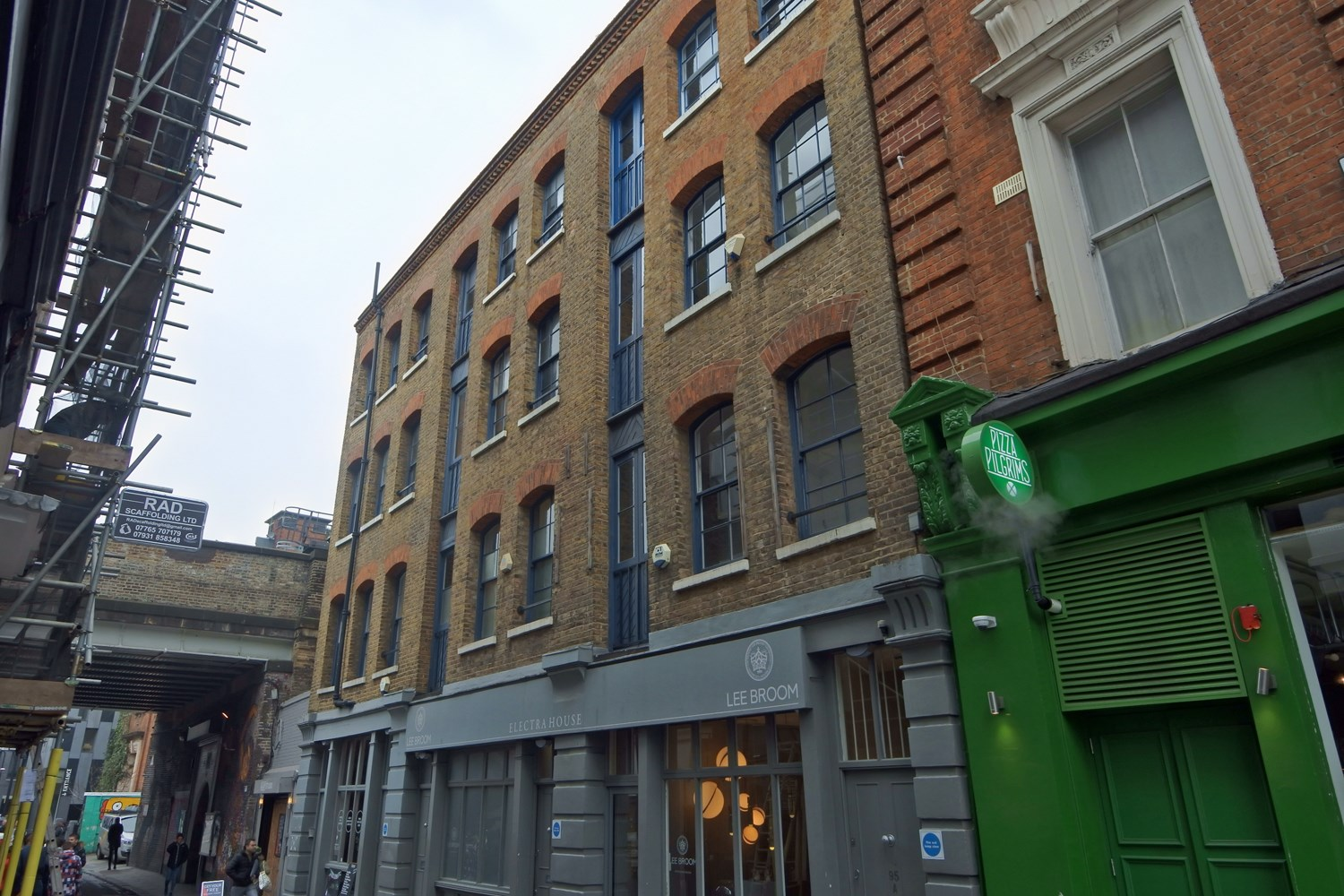 93A Rivington Street Third Floor EC2A 3AY Shoreditch Office For Rent External