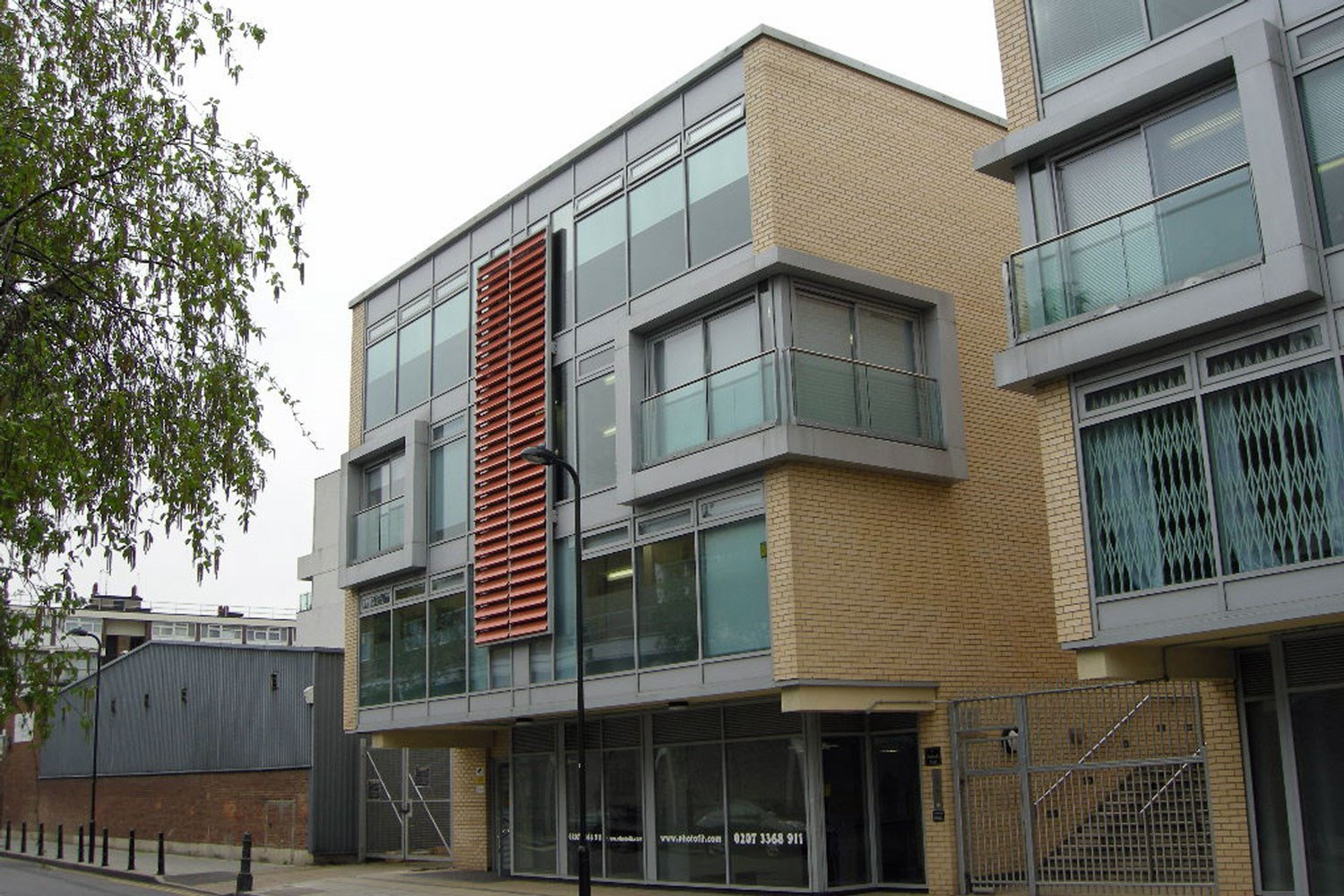 7 Wenlock Road N1 7SL Office For Rent Old Street External 2