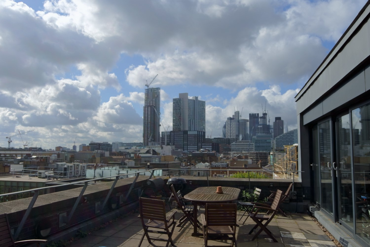 Lux Building 2 4 Hoxton Square Unit 12 N1 6NU Shoreditch Office Roofterrace2