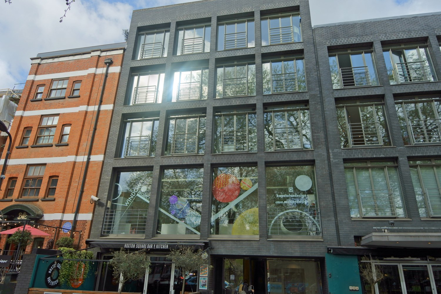 Lux Building 2 4 Hoxton Square Unit 4 N1 6NU Shoreditch Office External1