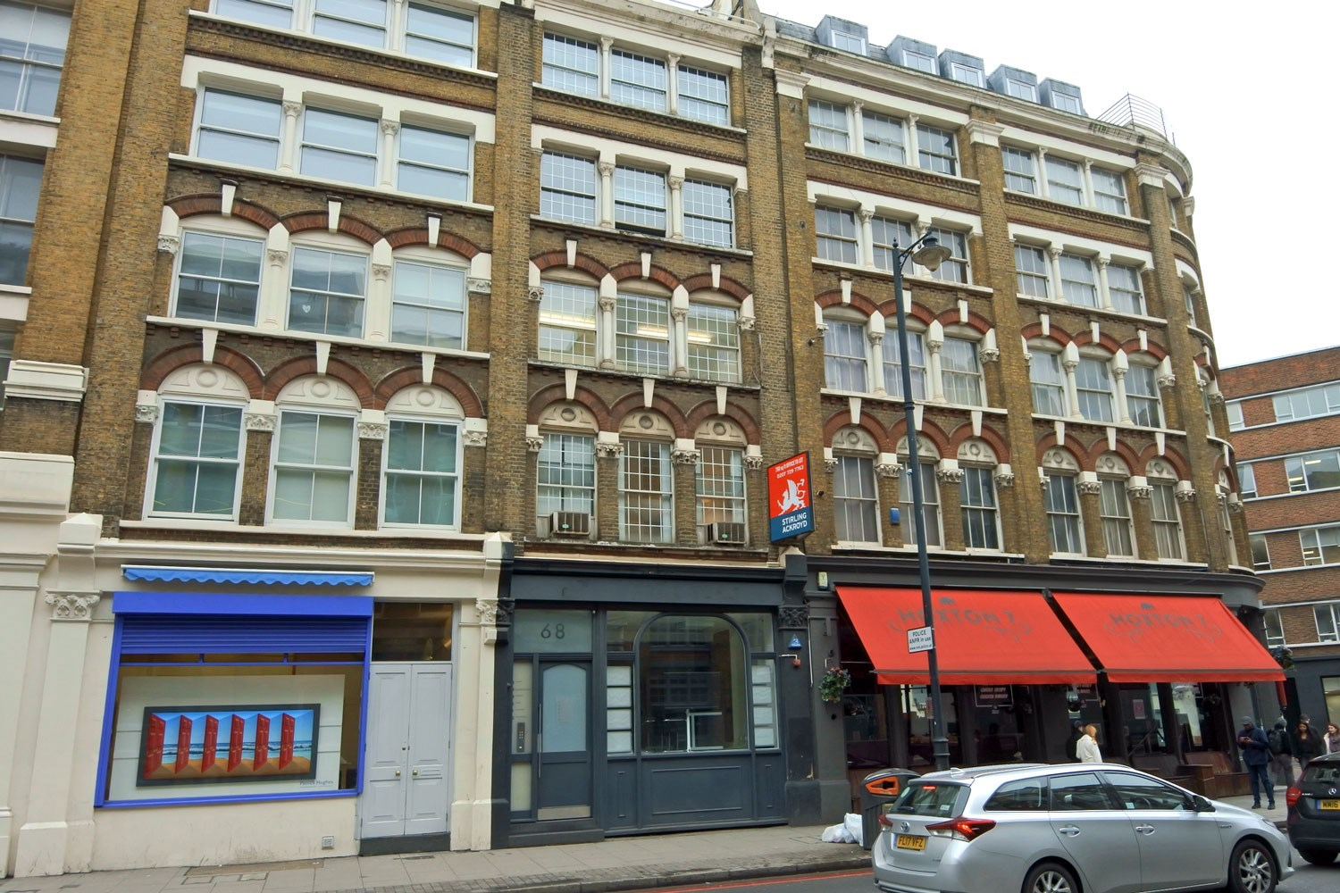 68 Great Eastern Street Shoreditch EC2A 3JT Office For Rent External 3