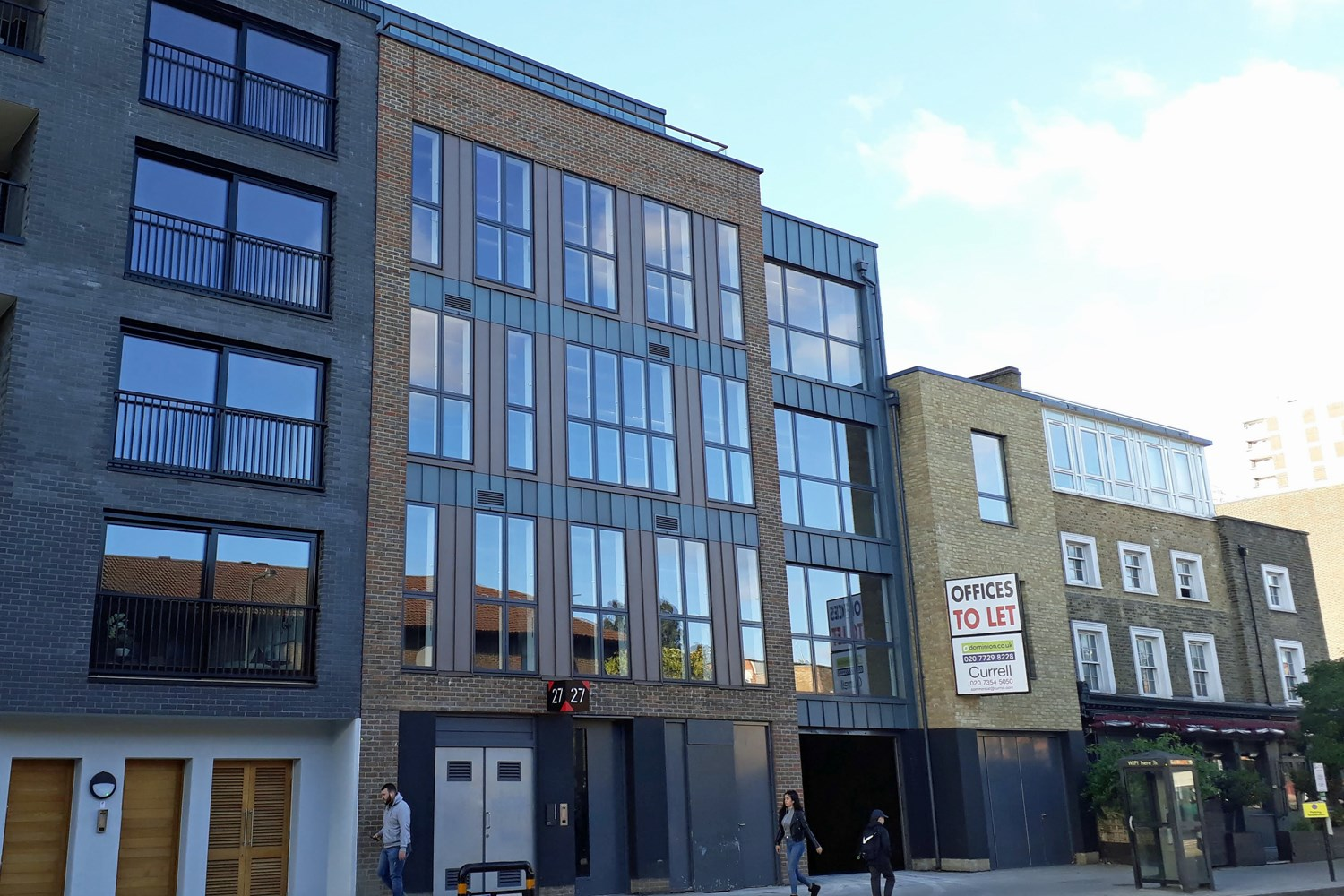 27 Downham Road N1 5AA Haggerston Office External Front5