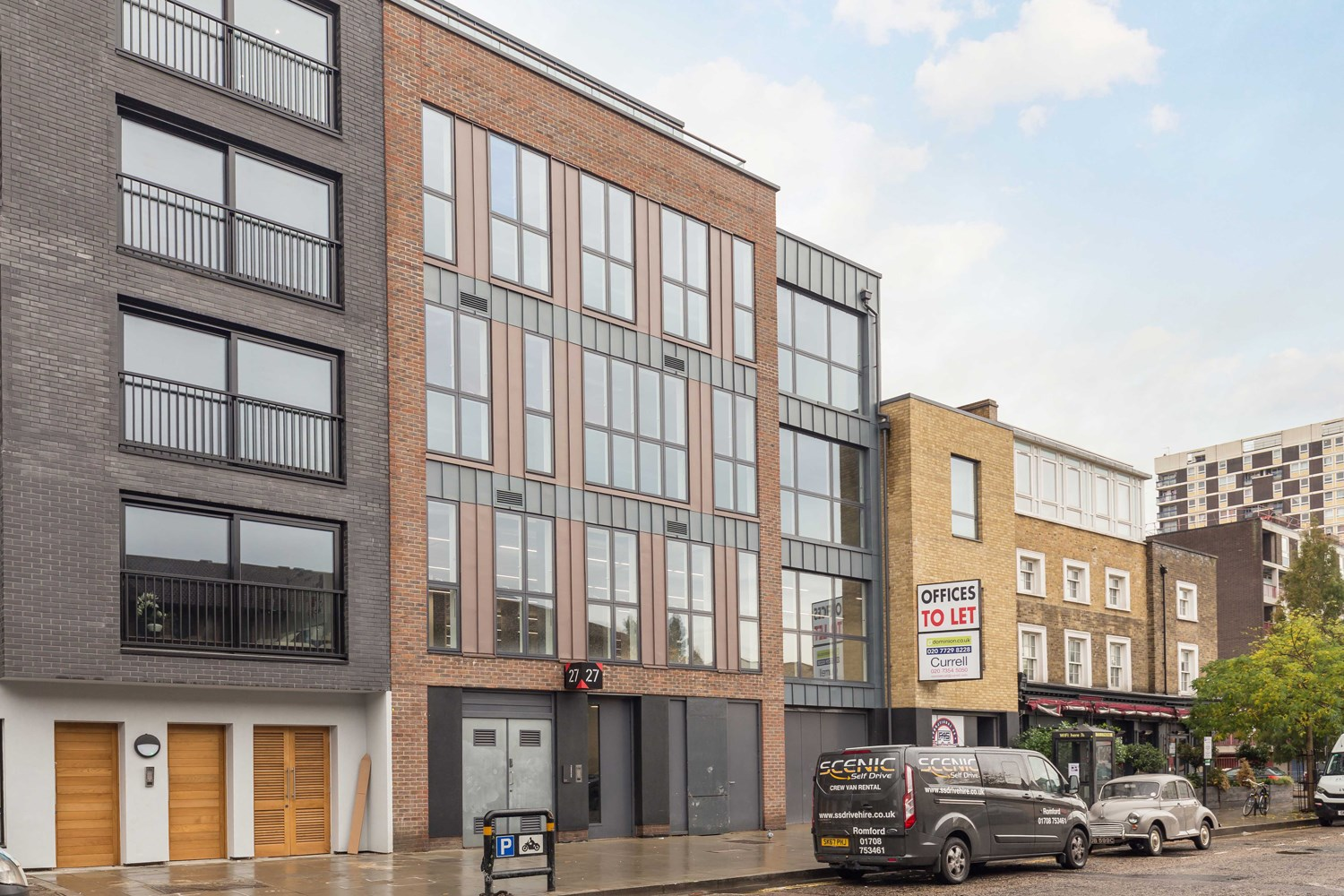 27 Downham Road N1 5AA Haggerston Office External Front7