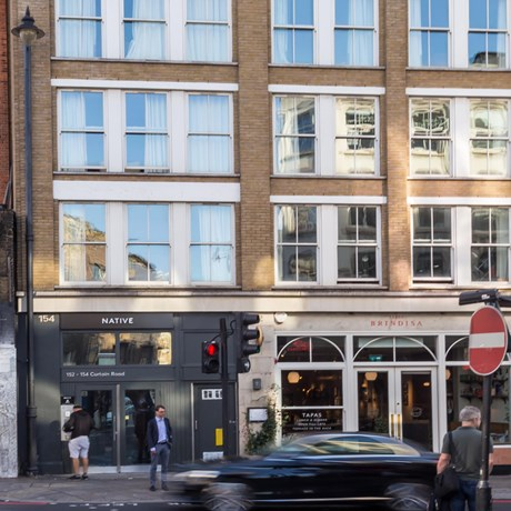 152 154 Curtain Road EC2A 3AT Shoreditch Office External1