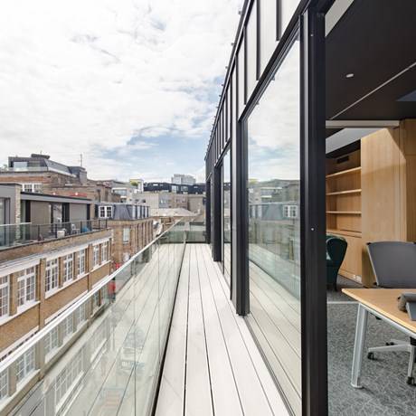 59 Rivington Street Shoreditch London EC2A Third Floor Office Roof Terrace