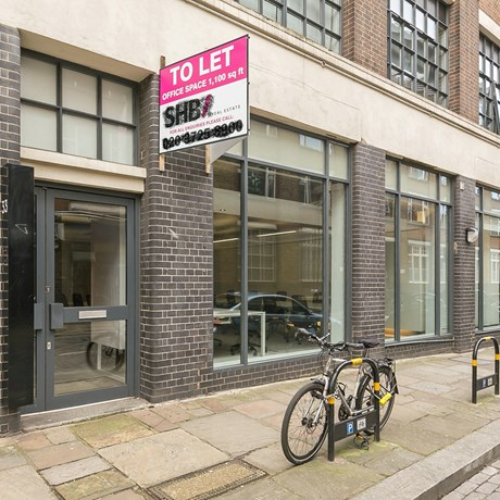 33 Boundary Street Showroom Shoreditch E2 External2