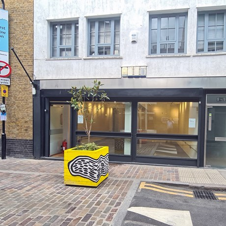 10 Charlotte Road EC2A 3DH Shoreditch Shop To Let External1