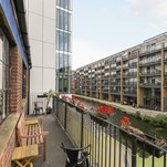 Tuscany Wharf 4A Orsman Road N15QJ Hoxton Haggerston Office Studio To Let External Rear Terrace1